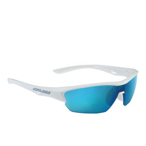 Salice 011 RW Sports Sunglasses - Mirror - White-Blue/RW Blue