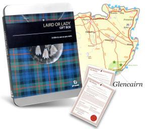 Coffret cadeau : devenez un Laird de Glencairn
