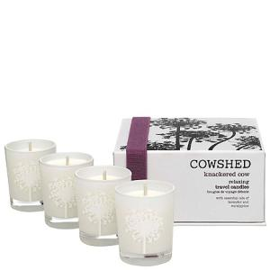 Cowshed Knackered Cow Relaxing Travel Candles 4 x 35g