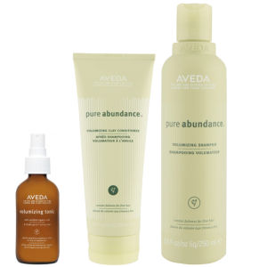 Aveda Pure Abundance Volumising Trio- Shampoo, Conditioner & Purescription Volumising Tonic