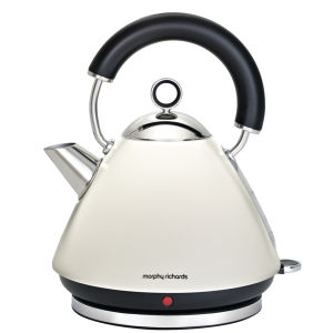 Morphy Richards Accents Traditional Kettle - White