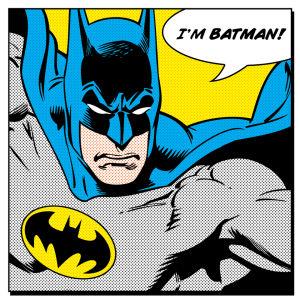 Batman Quote Canvas (40x40)