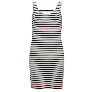 Vero Moda Women's Zanta Bodycon Dress - Black/Coral