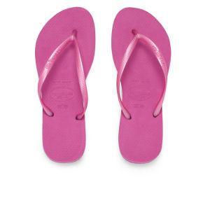Havaianas Women's Slims Flip Flops - Pink