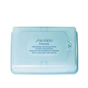 Pureness Refreshing Oil Free Cleansing Sheets de Shiseido (30 lingettes)