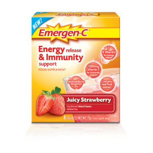 Клубничный Emergen-C Strawberry (8 порций)