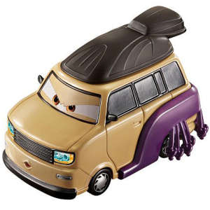 Cars 2 - Oversized Die Cast Kingpin Nobunaga