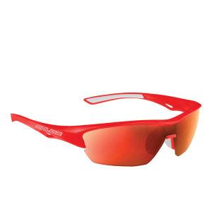 Salice 011 RW Sports Sunglasses - Mirror - Red/RW Red