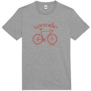 Le Coq Sportif Tour de France N9 Short Sleeved T-Shirt - Grey