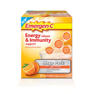 Emergen-C Orange Pack (megapack 24 portioner)