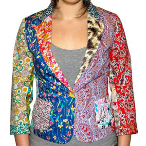 Foul Fashion Women's Blazer - Multi