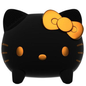Hello Kitty Touch Sensitive iPod Dock and Speaker - Black/Gold