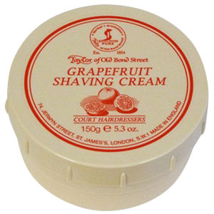 Крем для бритья с ароматом грейпфрута Taylor of Old Bond Street Shaving Cream Grapefruit