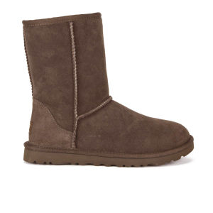 UGG Women's Classic Short Sheepskin Boots - Chocolate
