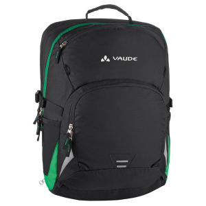 VAUDE Cycle 22 Backpack - Black/Meadow