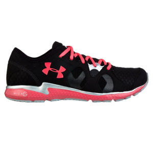 Under Armour Women's Micro G Mantis Running Shoes - Black/Pink