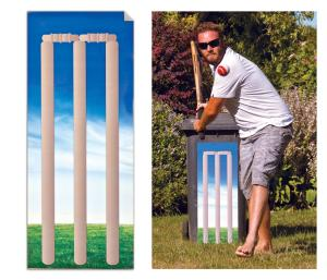 Cricket Wicket Stick-It
