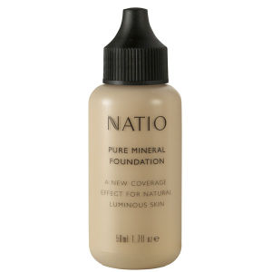 Natio Pure Mineral Foundation -mineraalimeikkivoide - Light (50ml)