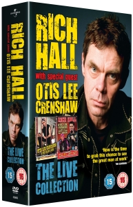 Rich Hall Box Set (Includes CD)