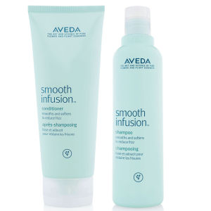 Aveda Smooth Infusion Duo- Shampoo & Conditioner -shampoo ja hoitoaine
