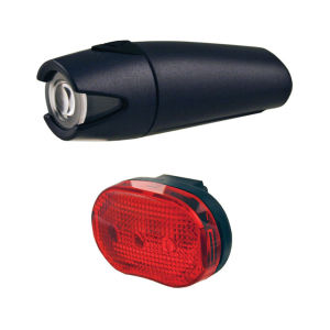 Smart 4 Lux Front with 3 LED Rear Lightset
