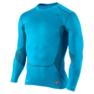 Nike Men's Hypercool Compression Long Sleeve Top 2.0 - Vivid Blue