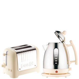 Dualit Jug Kettle and 2 Slot Toaster Bundle - Cream