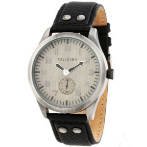 Religion Men's 'Islington' Round Dial Watch