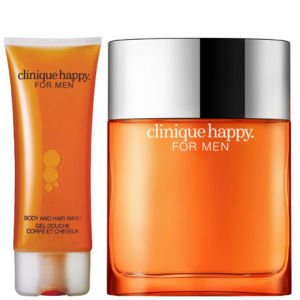 Clinique For Men Happy Duo (50ml Spray,  Körper- und Haarwaschgel)