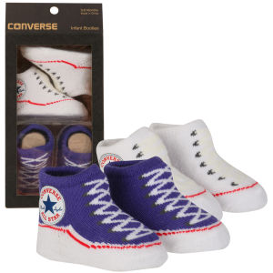 Converse Kids' Chuck Taylor Knitted Booties Socks - Purple