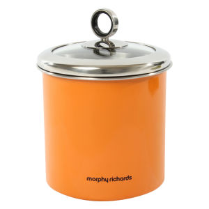 Morphy Richards Accents Large Storage Canister - Orange