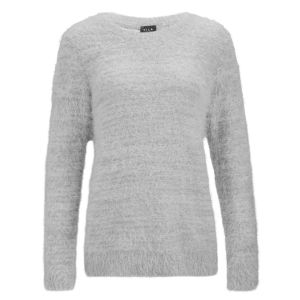 VILA Women's Viper Knitted Jumper - Grey