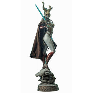 Sideshow Collectibles Court of the Dead Valkyrie of the Dead Kier Premium Format Statue