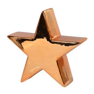 Ceramic Golden Star