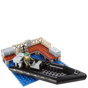 H.M. Armed Forces: Royal Navy Assault Rib Mini Playset