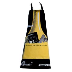Cluedo Apron - Colonel Mustard
