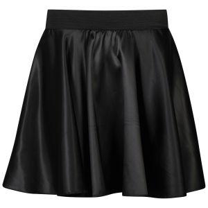 Influence Women's Satin Skater Skirt - Black