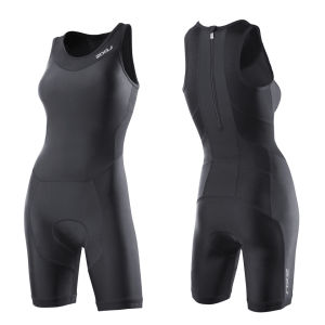 2XU Women's Perform Trisuit with Rear Zip - Black