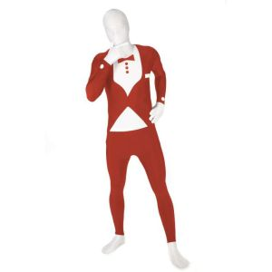 Morphsuits Tuxedo Red