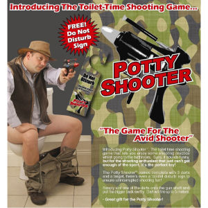 Potty Shooter - Toilet Dart Game