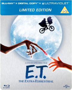 E.T. The Extra-Terrestrial - Limited Edition Steelbook (Includes Digital and UltraViolet Copy) (UK EDITION)