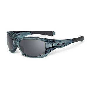 Oakley Men's Pit Bull Crystal Iridium Sunglasses - Black