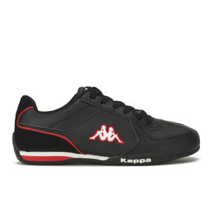 Kappa Men's Gara 2 Trainers - Black/Red/White