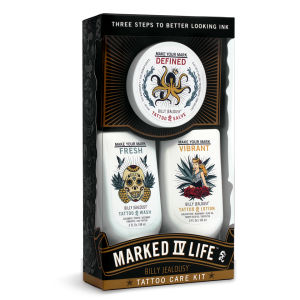 Kit para cuidado de tatuajes Billy Jealousy Marked IV Life