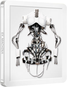 ExMachina - Zavvi Exclusive Limited Edition Steelbook (Includes UltraViolet Copy. Limited to 2000 Copies) (UK EDITION)