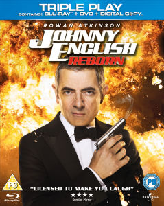 Johnny English Reborn - Triple Play (Blu-Ray, DVD en Digital Copy)