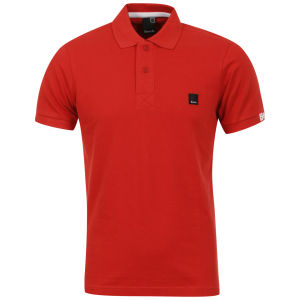 Bench Men's Resting Polo Shirt - Molten Lava Red