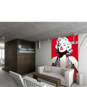 Marilyn Monroe Designer Chic Wall Mural
