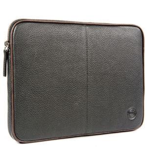 dbramante1928 Leder Laptop Tasche 13 Zoll bis 14 Zoll, Schwarz / Braun