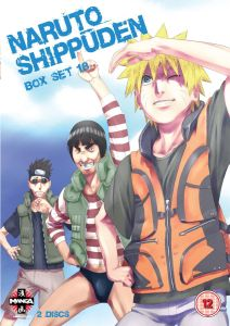 Naruto Shippuden Box Set 18 (Episodes 219-231)